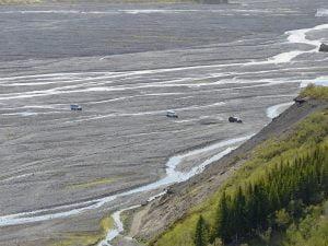 Flussbett bei Þórsmörk