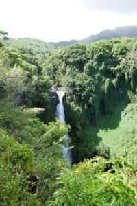 Makahiku Wasserfall im Haleakala NP