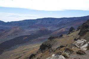 Haleakala Krater - Ausblick vom Kalahaku Viewpoint