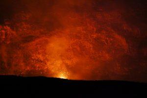 Kilauea-Caldera Krater