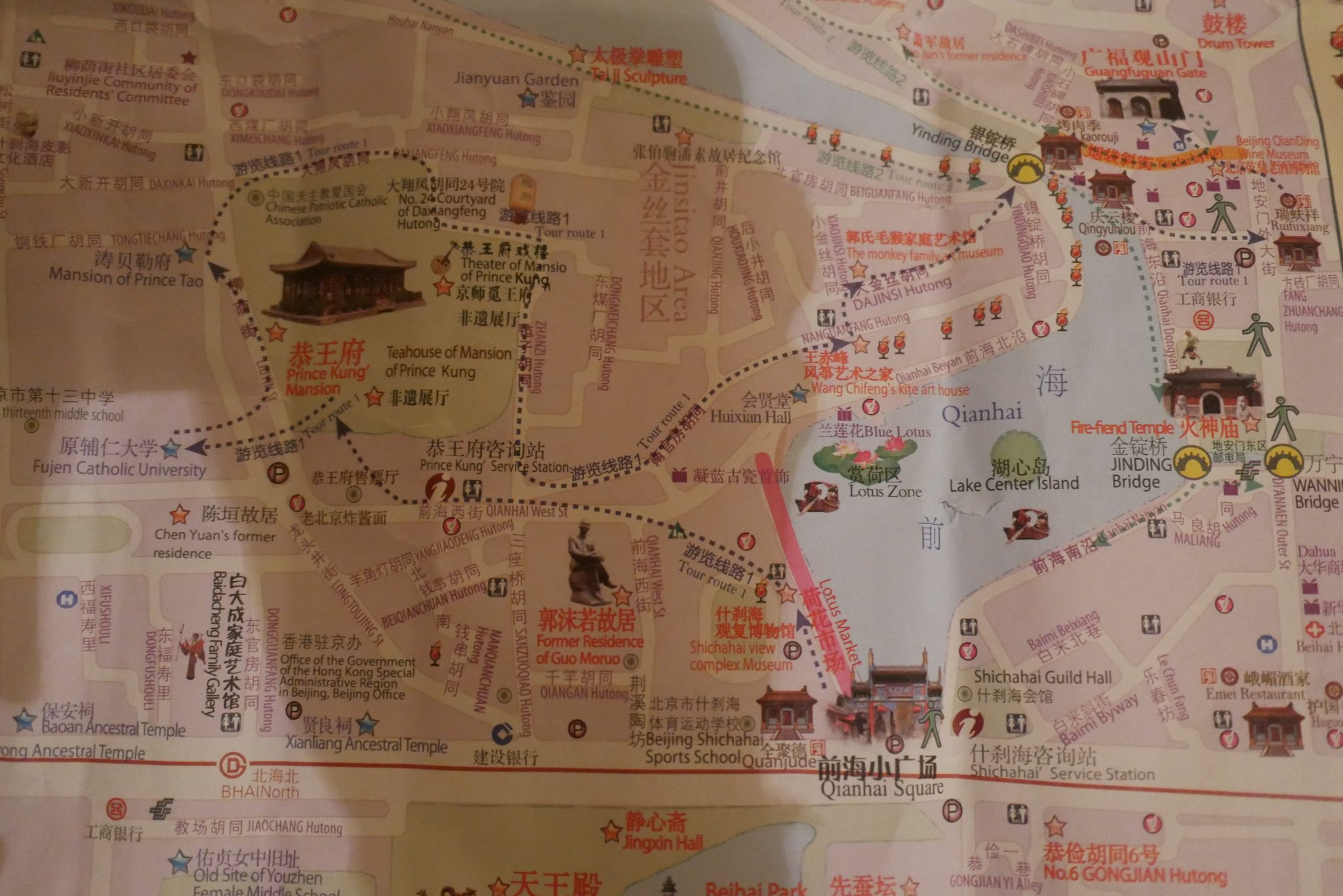 Städtetrip durch Peking & der Besuch der Chinesischen Mauer