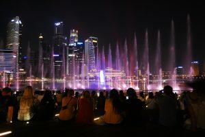 Marina Sands Laser Show