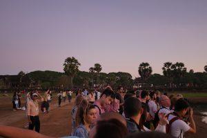 Angkor Wat Andrang