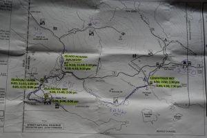 Tierra del Fuego Parkübersicht
