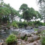 Kalalau Trail - erste Flussüberquerung