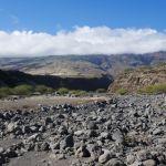 Road to Hana - Flussbettüberquerung am Ende der Route