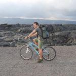 Ausflug zur fließenden Lava