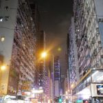 Hongkong bei Nacht