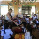 Zu Besuch in einer Schule