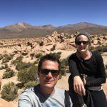 Salar de Uyuni - Steinwüste