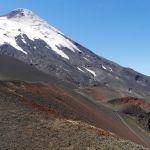 Mini Krater auf dem Osorno Vulkan