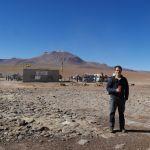 Salar de Uyuni - Grenze zu Bolivien